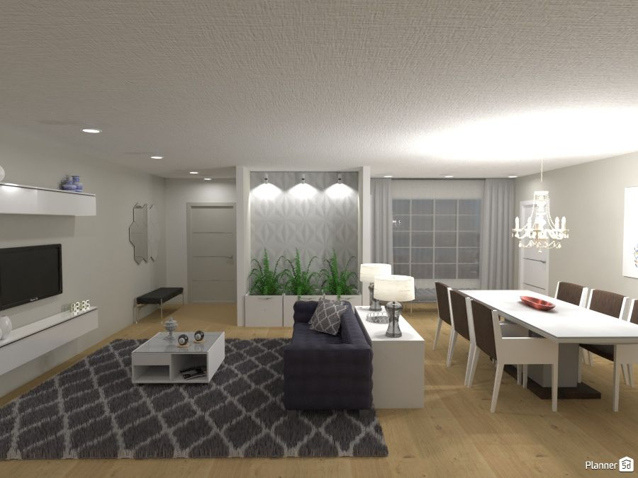 Living And Dining Room Modern Interior Planner 5d Living Room Planner Design Your Dream House Home Planner