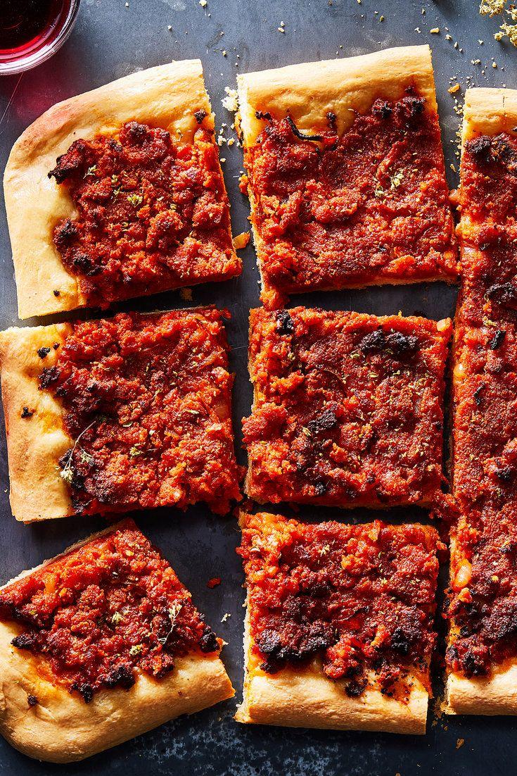 Fabrizia lanzas sicilian pizza sfincione recipe nyt
