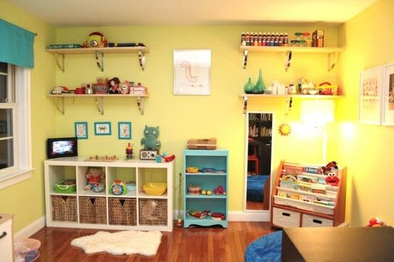 Well I Don T Want A Kid So I Wish For A Daycare That Is As Pretty As This By Levans Daycare Rooms Childcare Rooms Daycare Setup