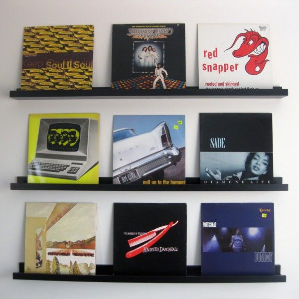 9 Incredibly Stylish And Fun Ways To Store Your Vinyl Records