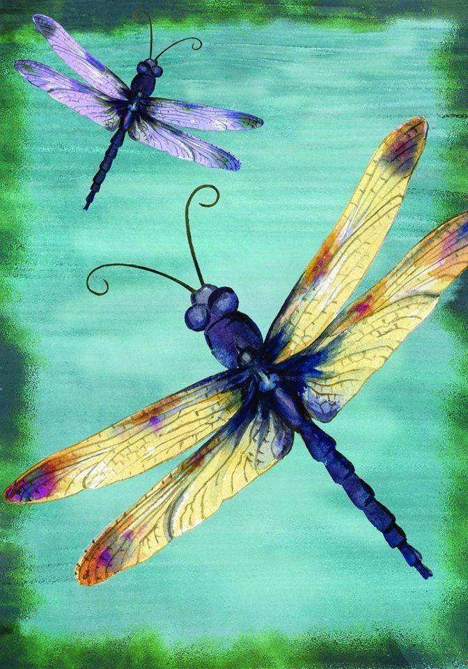 Pin de Michele Ade en painting ideas | Pinterest | Libélulas ...