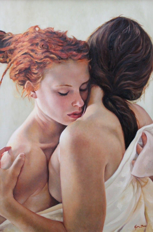 20x30 inch print of oil painting narrative figurativekimdow