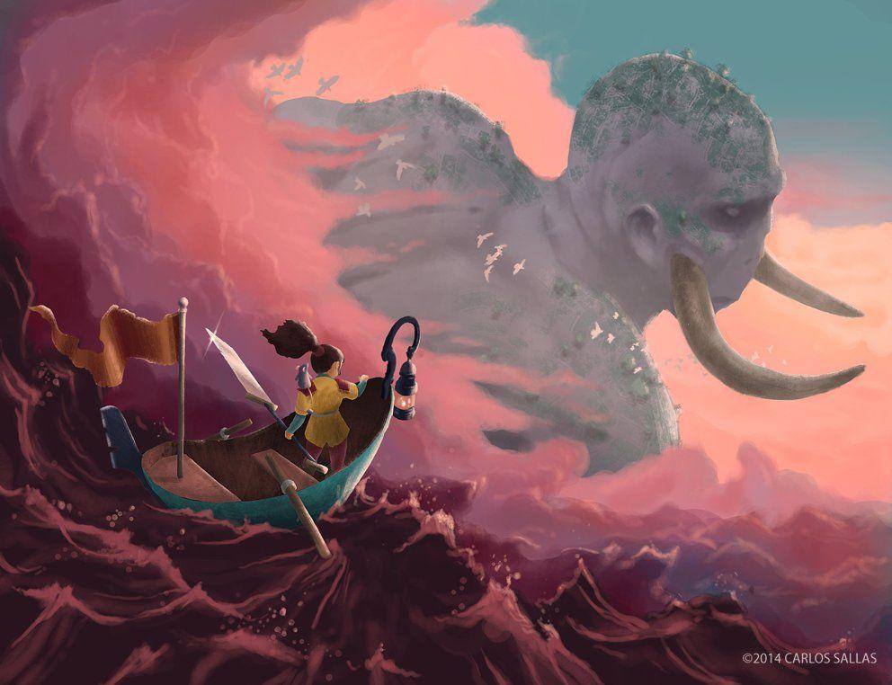 Riders in the Sky, Carlos Sallas on ArtStation at https://www.artstation.com/artwork/riders-in-the-sky