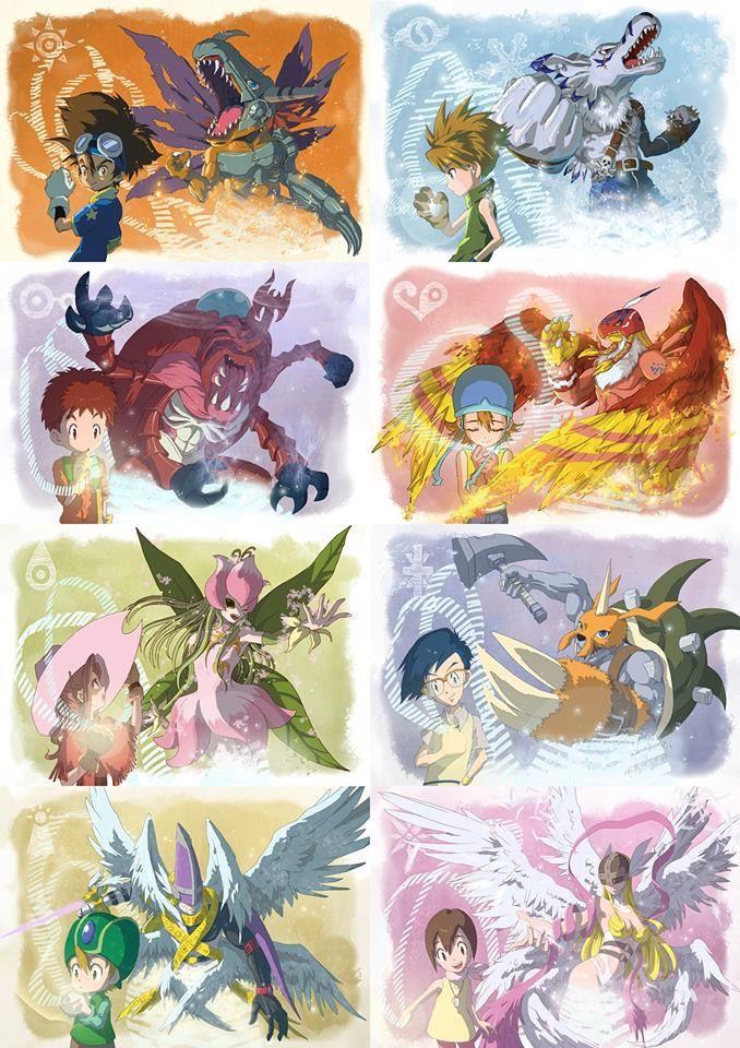 Digimon Adventure Digimon Wallpaper Pokemon Vs Digimon Digimon Digital Monsters