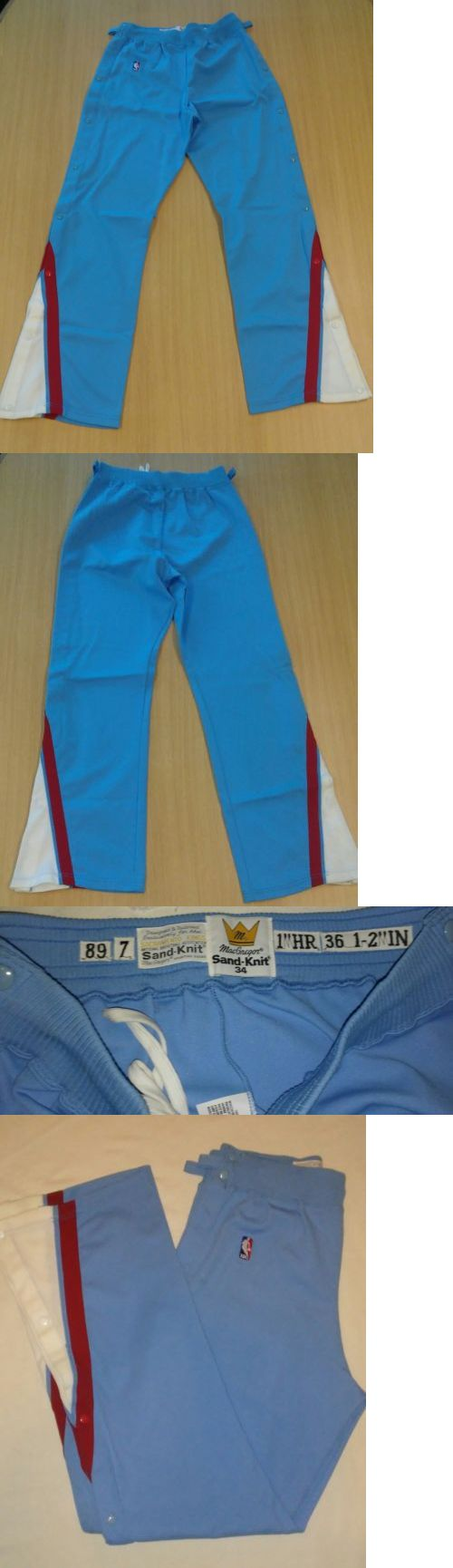 57e387a70793 Sacramento Kings NBA Game Issued Warm Up Pants.1989 MacGregor Sand-Knit  7