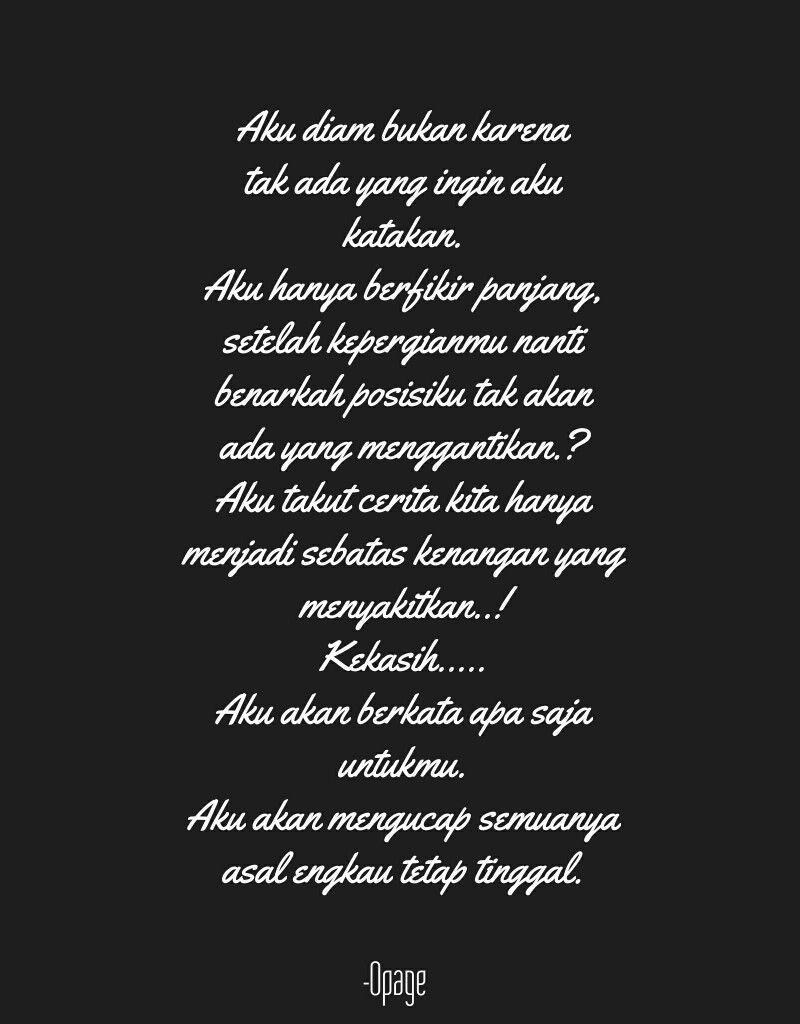 Pin Oleh Muhammadqusyairi Di Quotes Kutipan Dalam Kutipan Cinta