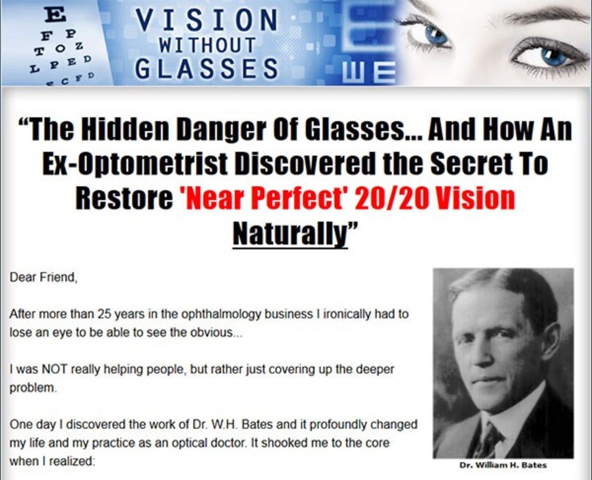 Vision Without Glasses By Duke Peterson Powered By Rebelmouse Eye Exercises Ebook E Book
