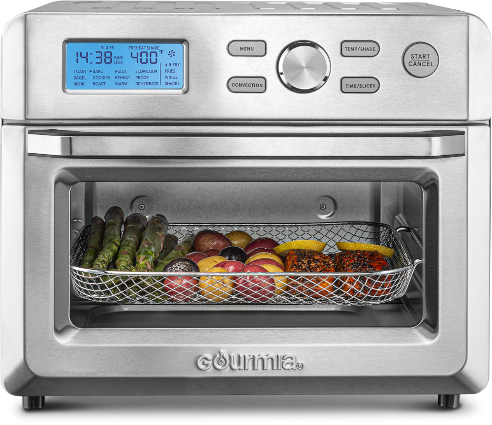 Amazonsmile Cuisinart Toa 60 Convection 15 5 L X 16 0 W X 14 0 H Toaster Oven Air Fryer X X Silver Kitchen Dining In 2020 Oven Racks Toaster Oven Oven