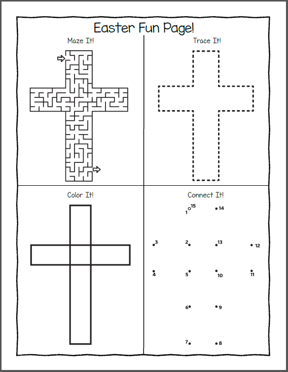 Easter Puzzles Best Coloring Pages For Kids Easter Worksheets Kindergarten Easter Worksheets Kindergarten Worksheets