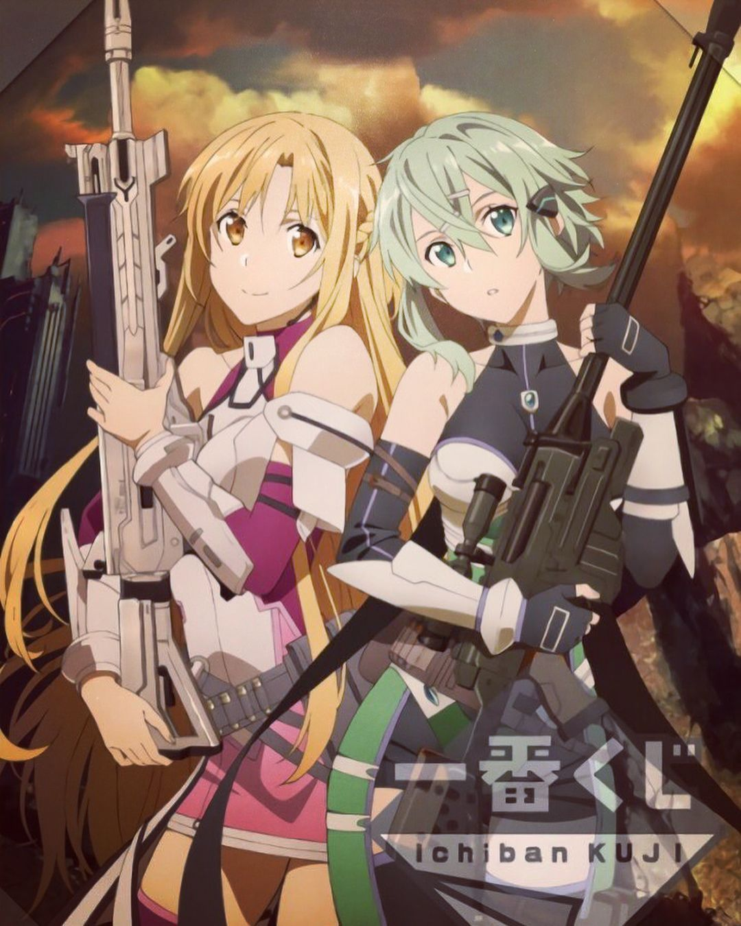 Pin By Harem Anime On Sinon Sword Art Sword Art Online