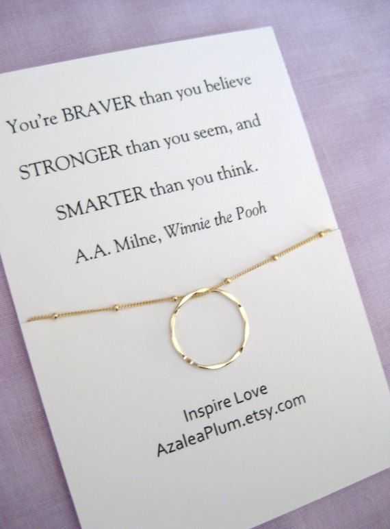 Birthday Gift For Sister Inspirational Friend Graduation Granddaughter Necklace Best Delicate And Lightweight Gold