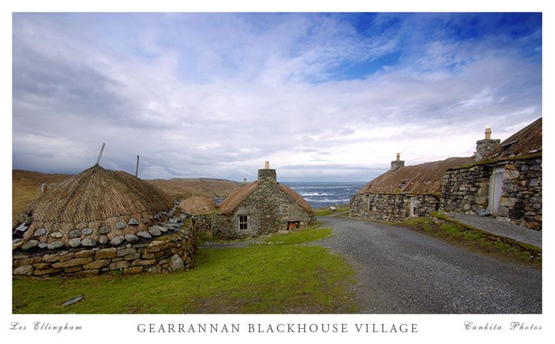 Gearrannan Black House Village Gearrannan Western Isles Black
