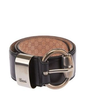 504a1e245 Get the lowest price on Gucci Women's Dark Bronze Leather Wide Belt, Size  85/34 (27437) and other fabulous designer clothing and accessories! Shop  Tradesy ...