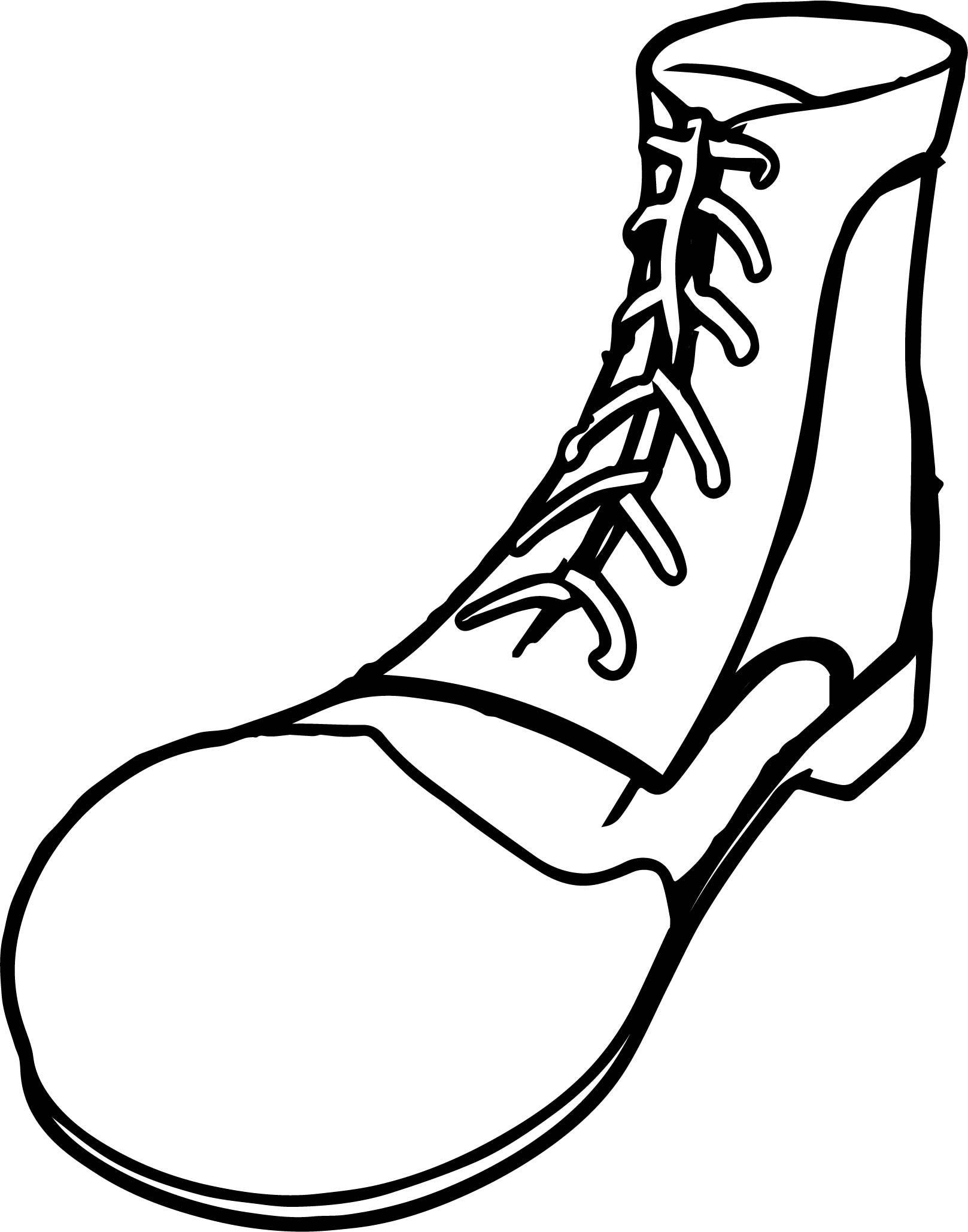 Pete the Cat Shoes Coloring Page in 2020