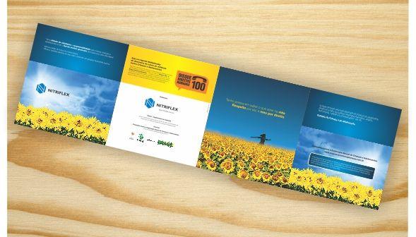 Catalogo , feito para campanha sobre exploração infantil - Ntriflex RJ