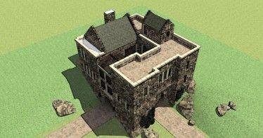 Scottish Tower House Hwbdo76744 European House Plan From Builderhouseplans Com Roof Castle House Plans Castle House Castle Plans