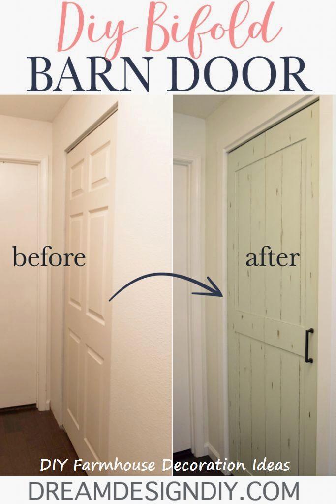 Diy Bifold Barn Door Bifold Barn Doors Laundry Room Doors Laundry Room Closet