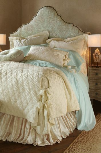 Balloon Bedskirt Extra-long - Bedding Ensembles, Luxurious Bed Skirts | Soft Surroundings