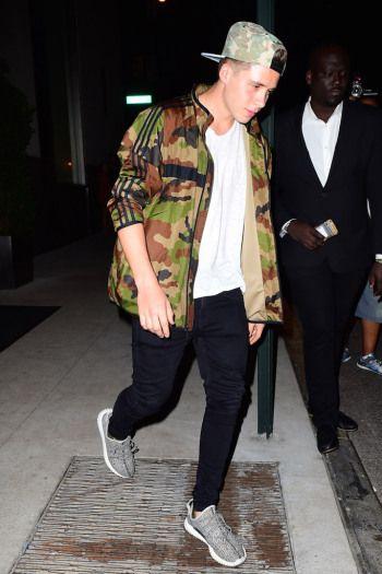 aa4f760c8 Celebrities Wearing Yeezy Boost Sneakers  Brooklyn Beckham