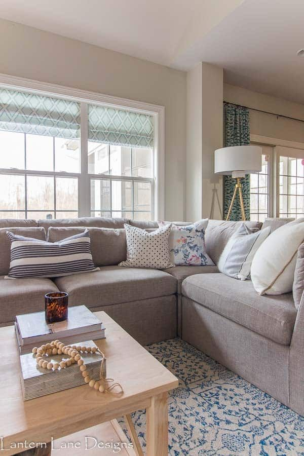 Small Living Room Decor Ideas With A Sectional Decor Affordable