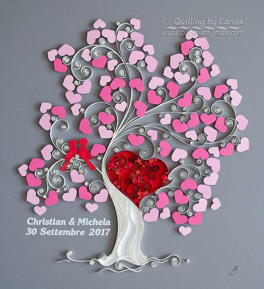 quilling , quilling paper, paper art, art, love, design ...