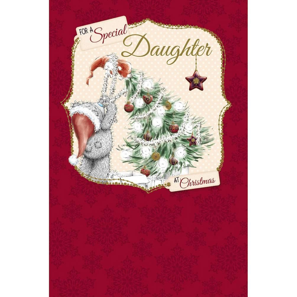 Special daughter me to you bear christmas card 249 teddy special daughter me to you bear christmas card 249 kristyandbryce Images