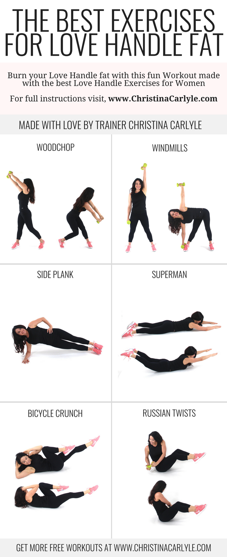 How To Work Out Your Love Handles At Home