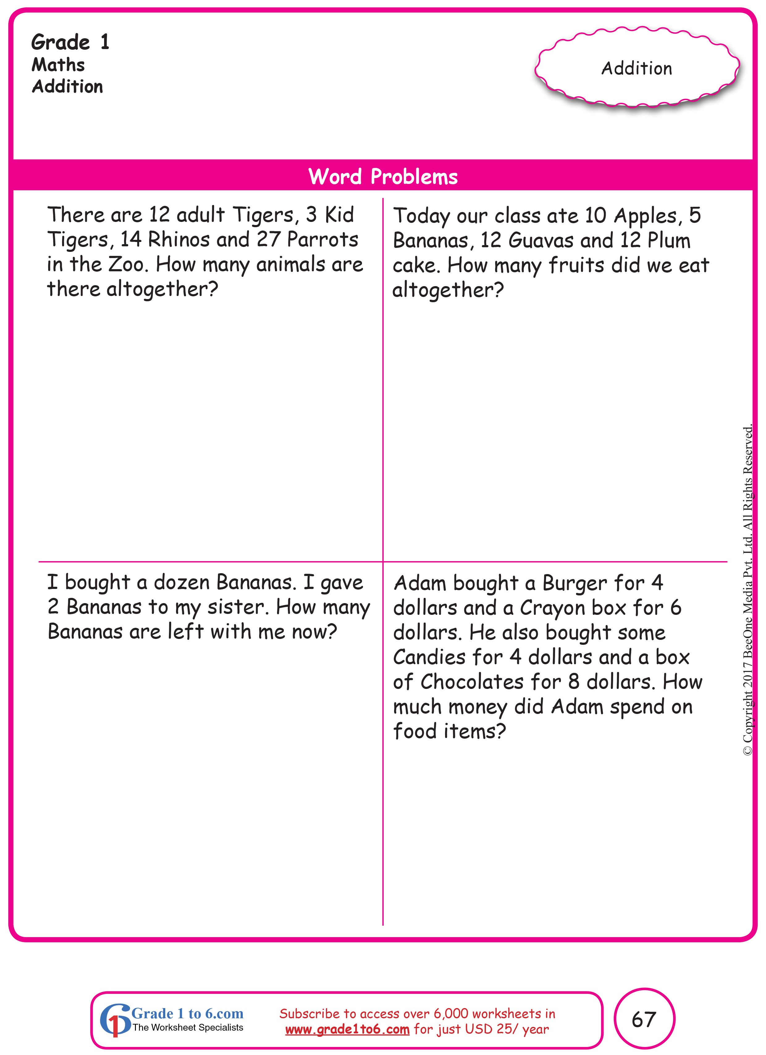 hight resolution of Pin on Grade 1 Math Worksheets: PYP/CBSE/ICSE/Common Core