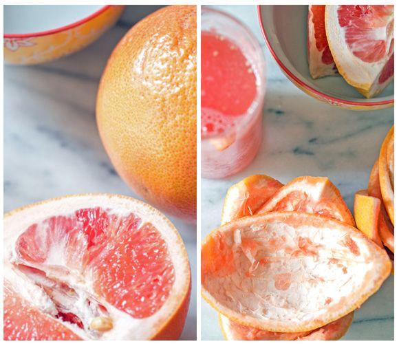 Candied Grapefruit Cocktail #grapefruitcocktail
