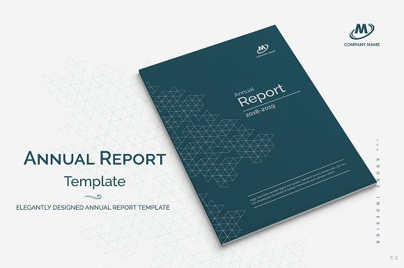Annual Report Template Annual reports, Template and Brochures