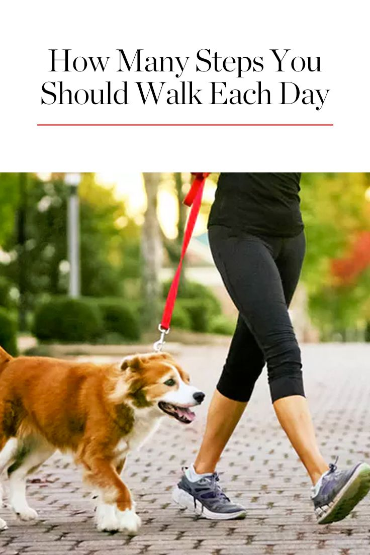 Here's Exactly How Many Steps You Should Walk Daily for Your Health, According to Science via @PureWow