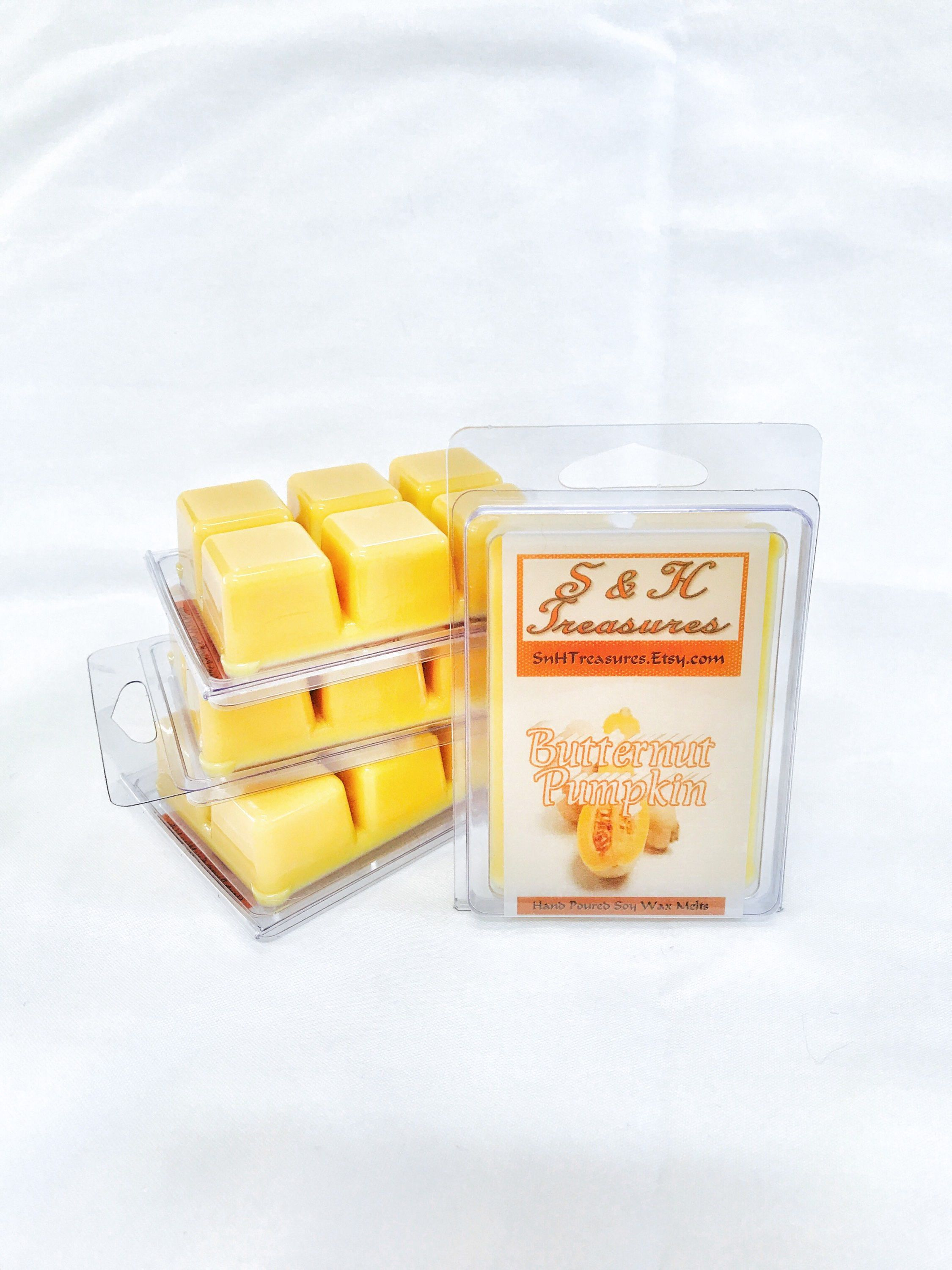 Butternut Pumpkin Scent Scented Soy Wax Melts Pure Soy