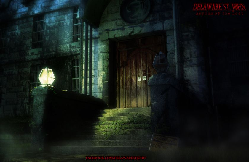 Sneak peek artwork for the upcoming fourth game, Asylum of the Lost
