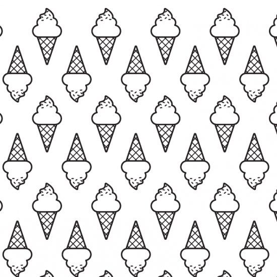 Free printable ice cream pattern, download and use it as