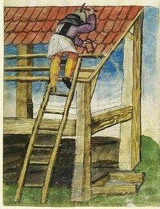 Image result for medieval manuscript house