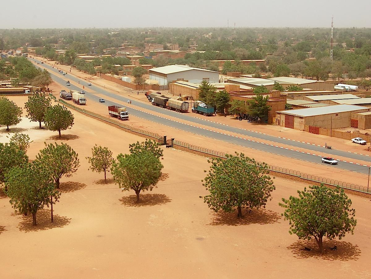 The capital of Niger is Niamey 60