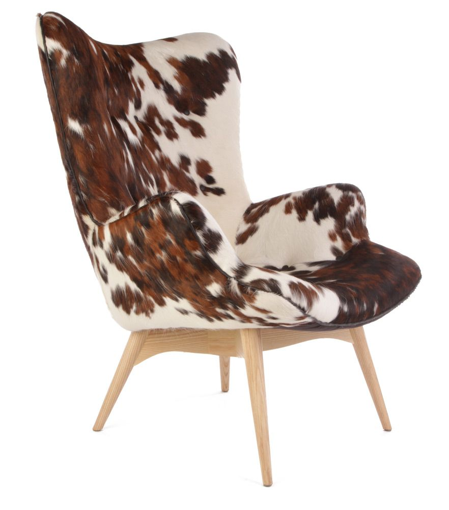 Tremendous Cow Leather Chair Basement In 2019 Cowhide Furniture Alphanode Cool Chair Designs And Ideas Alphanodeonline