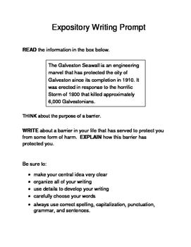 staar expository writing prompts 9th grade