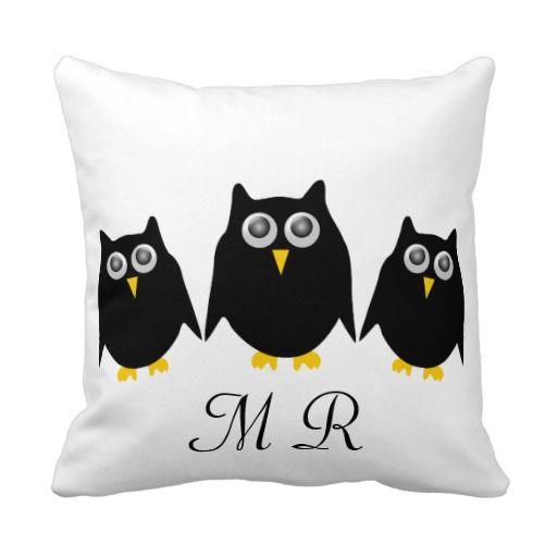 >>>Low Price Guarantee          	Black Owls Monogrammed Pillow           	Black Owls Monogrammed Pillow we are given they also recommend where is the best to buyShopping          	Black Owls Monogrammed Pillow Here a great deal...Cleck Hot Deals >>> http://www.zazzle.com/black_owls_monogrammed_pillow-189175693080819805?rf=238627982471231924&zbar=1&tc=terrest