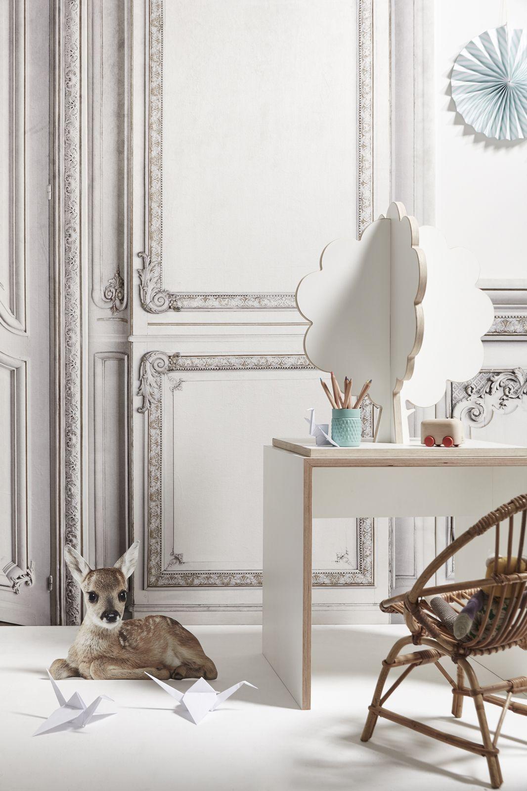 Haussmann trompe l 39 oeil wall panels by koziel for the little ones in 2019 koziel chambre - Trompe l oeil chambre ...