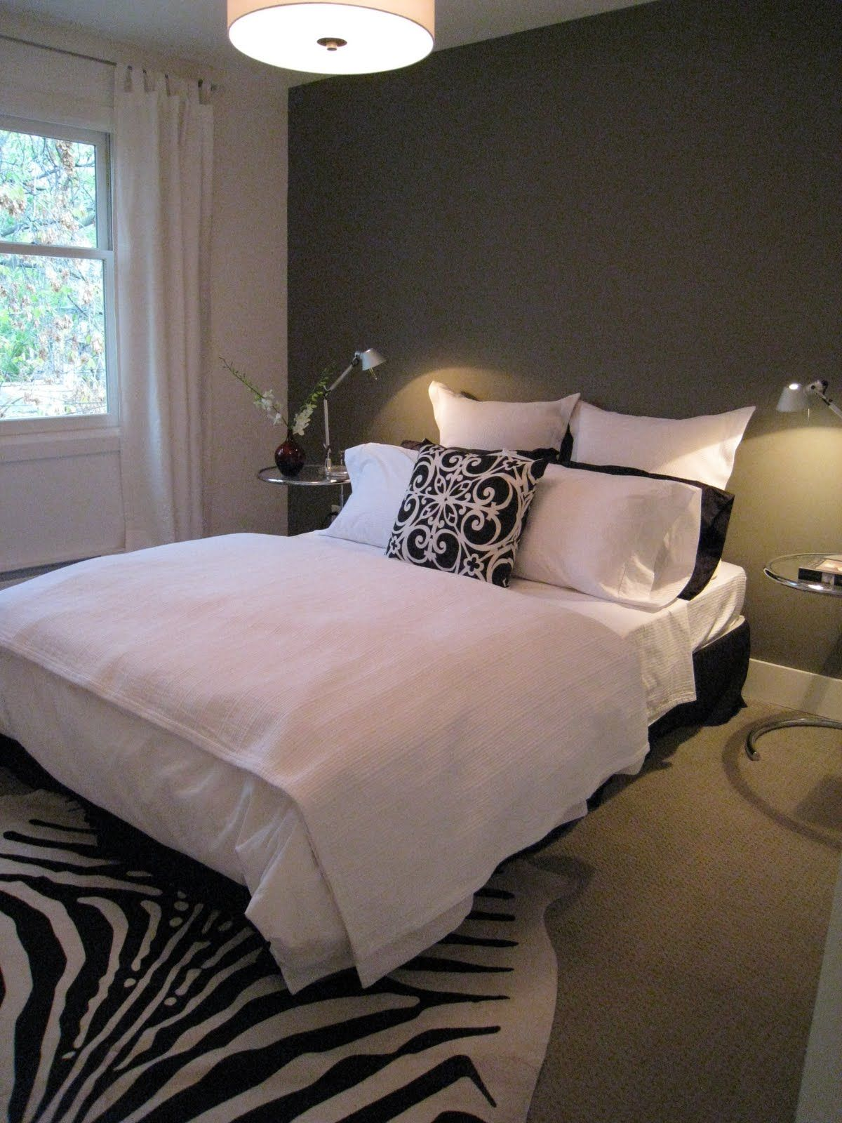 Master bedroom accent wall  Another Accent Wall  Home  Pinterest  Walls Bedrooms and Gray