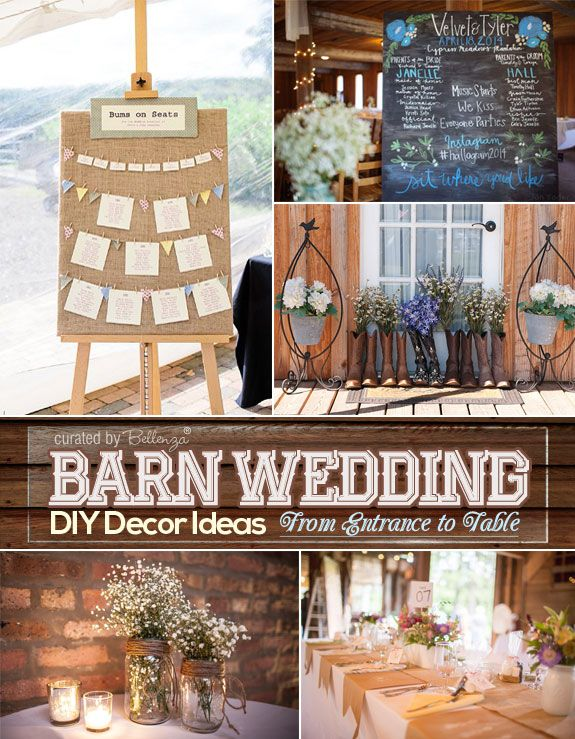 10 ways to diy your barn wedding this summer barn weddings 10 ways to diy your barn wedding this summer junglespirit Image collections