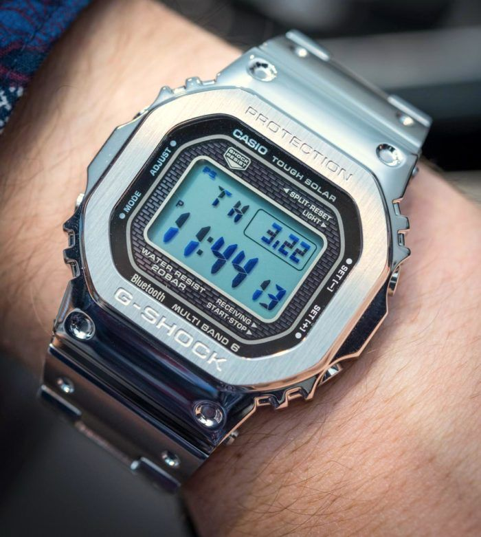 6e6894e7439 Hands-On With The Casio G-Shock GMW-B 5000 D-1  Full Metal  Hands-On Mens  Watches Stopwatch