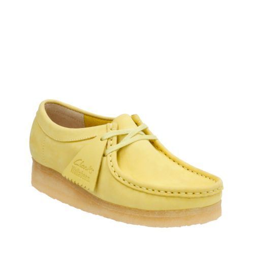 aa733af0f02be Wallabee. Pale Lime Nubuck - Clarks Wallabees® - Women s - Clarks ...