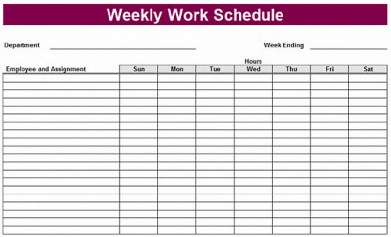 Pin on Weekly planner template