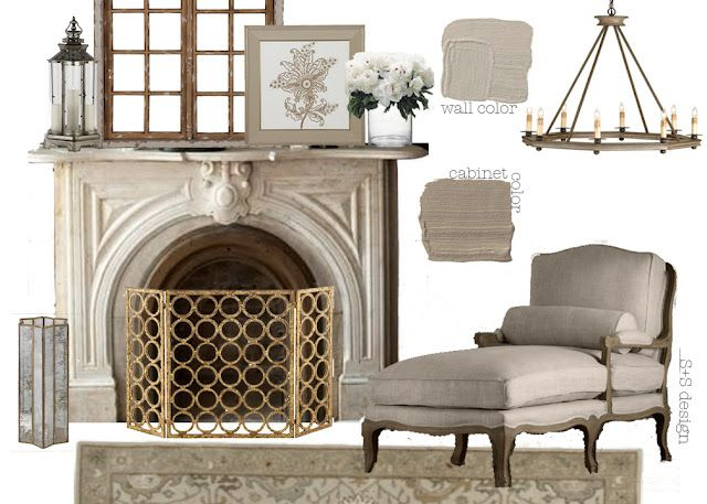 Monochromatic Classic Living Space.