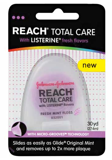 Reach Floss Coupon Save 1 on Reach Floss Listerine