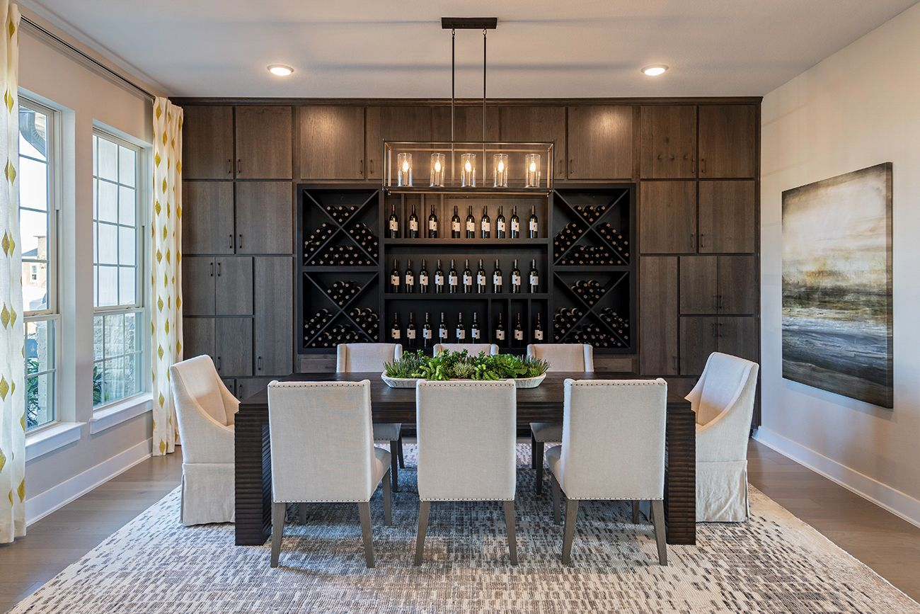Imagine hosting your next dinner party here…