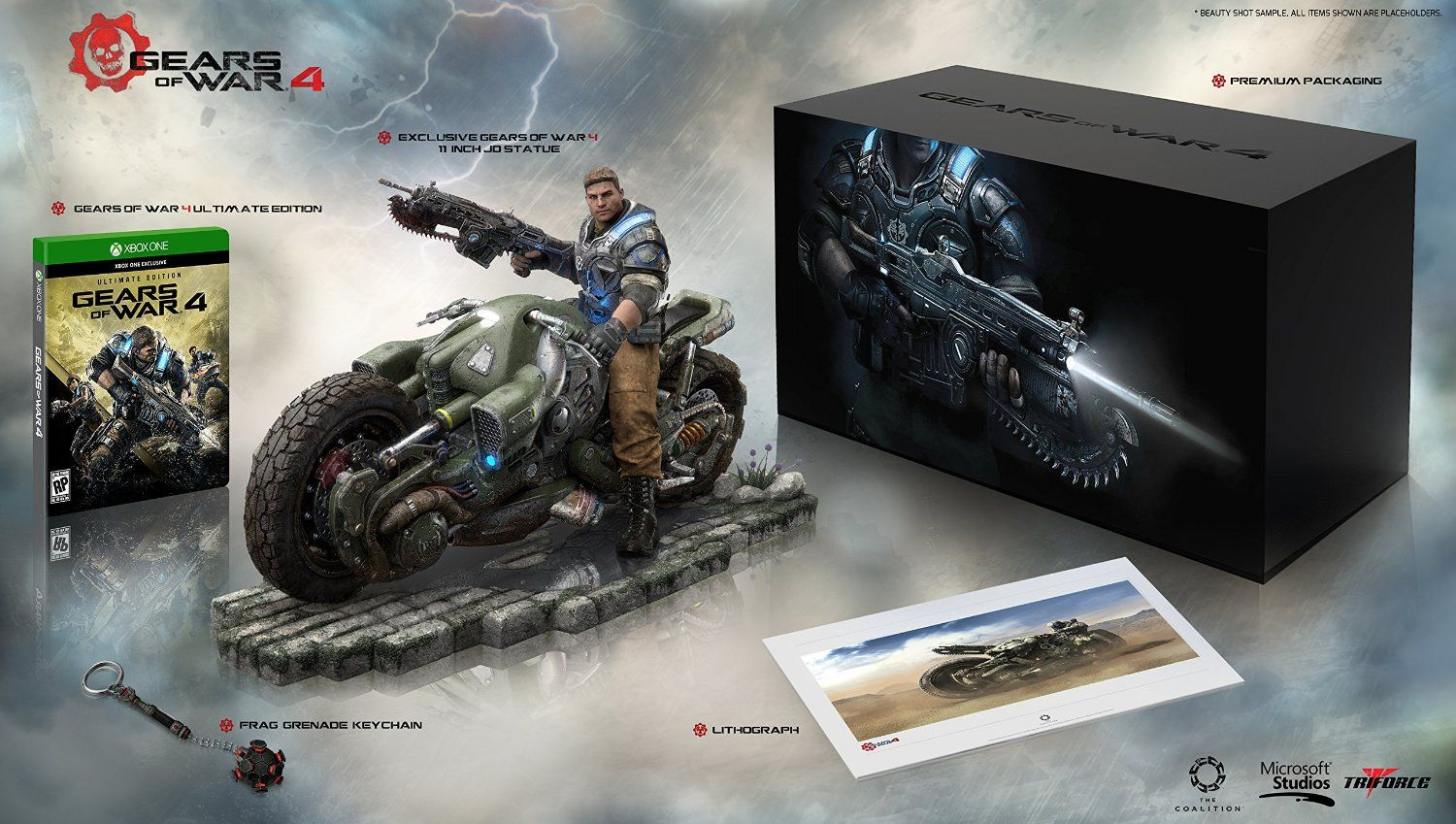 Cool Stuff Gears Of War 4 Collector S Edition Includes Ultimate