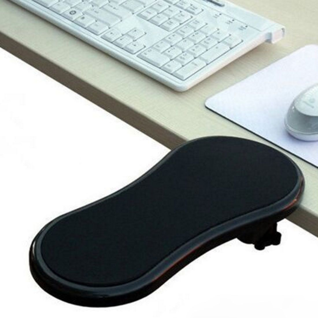 Desk Attachable Computer Table Arm Support Mouse Pads Hand Shoulder Protect Armrest Pad Arm Wrist Rests Chair Extender For Ta Computer Mouse Pad Computer Table